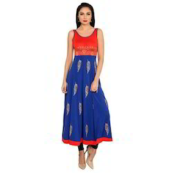 Ira-Soleil-Blue-Red-Polyester-Knitted-Stretchable-Feathe