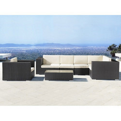 L Shape Outdoor Living Patio Furniture Sets