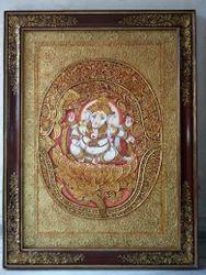 Ganesha Tanjore Painting