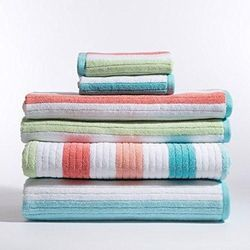 Jacquard Pastol Color Towels