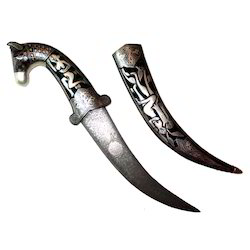 Horse Face Fine Antique Dagger