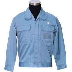 Blue Plain Industrial Uniforms Jacket, Construction