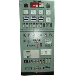 220 Line or Transformer Control and Relay Panel with Main1 and Main2
