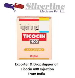 Ticocin 400 Injection