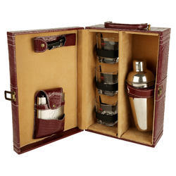 Red Wine Croco - 03 Portable Cocktail Set