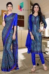 Teacher Uniform Saree Salwar