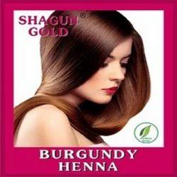 Natural Burgundy Henna Color