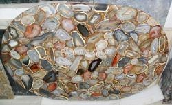 Gemstone Agate Table
