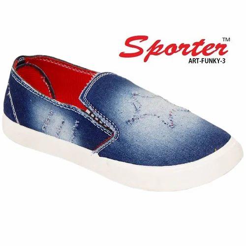 684fbeffa26 Sporter Men Blue Funky-3 Denim Loafers   Moccasins
