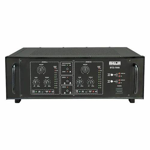 power amplifiers two zone power amplifiers manufacturer from new delhi  two zone power amplifiers