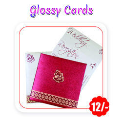 Multi Colors - Wedding Cards(Glossy - A6 Size/ 300 GSM)