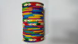 Multi Colour Bangle Set