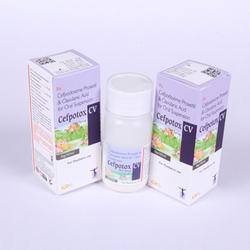 Cefpodoxime Proxetol & Clavulanic Acid  For Oral Suspension