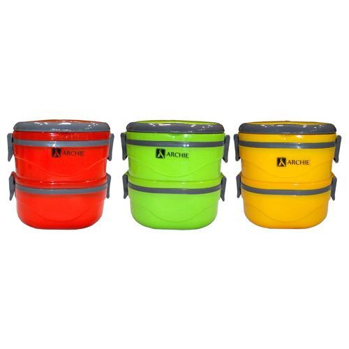 2cf99c3156 Lunch Box - Hot Klip 2 Thermal Insulated Stainless Steel Lunch Box ...