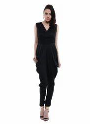 Black Jumpsuit (COT411B)