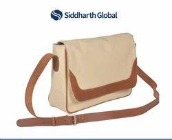 Premium Canvas Messenger Bag