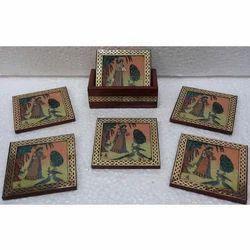 Gemstone Coaster Set