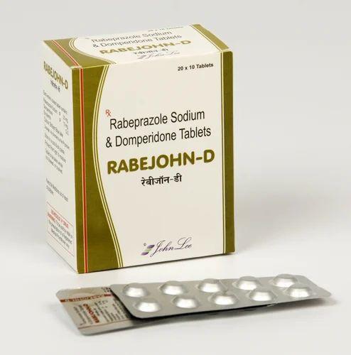 Pharmaceuticals Generic Medicines Rabeprazole 20 Mg Domperidone 10