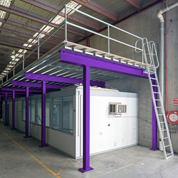 Mezzanine Floor Storage Solution