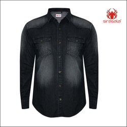 Corporate Denim Shirts for Men