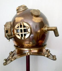 Antiques Diving Helmets Smart Antique Nautical Brass Divers Best Diving Helmet U S Navy Decorative Nice Gift