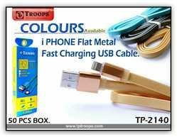 USB To iPhone Micro Flat Data Cord