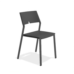 Perforated Fix Type Chair ( Without Handle)
