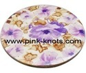 Customized Printed MDF Wooden Tea Coasters