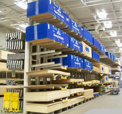Warehouse Store Rack