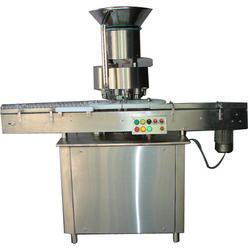Vial Stoppering and Sealing Machine