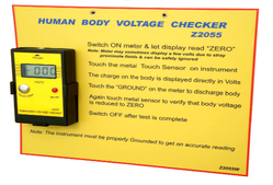 Human Body Voltage Checker