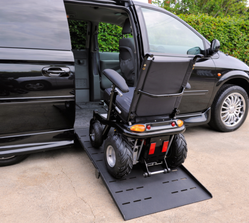 Cars For Physically Challenged Wheelchair Van Lift