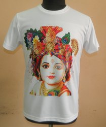 Round Neck Digital Printed T-Shirts