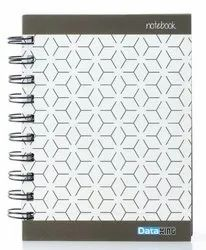 Dataking 5 Subject Single Ruled Tessellation Paper Soft Cover Wiro Notebook - A5 Size, 160 Pages