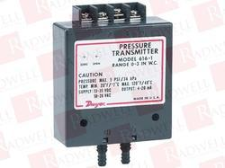 Dwyer Make Differential Pressure Transmitter 616 Series