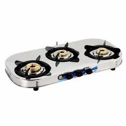 Three Burner LPG Gas Stove