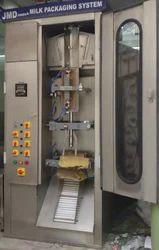 JMD INDIA MILK POUCH PACKING MACHINE 200ML-500ML