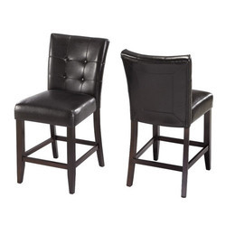 Black Modern Bar Chair