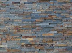 Multi Black Slate Stone Wall Panel / Cladding Tiles