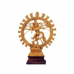 Wooden Polished Natraj