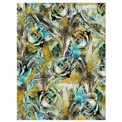 Satin Digital Printed Fabrics