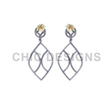 Marquise Dangle Earrings