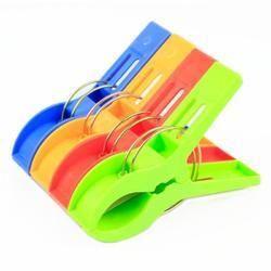 Colored Plastic Cloth Clips