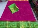 Kanjivaram Jungle Book Saree