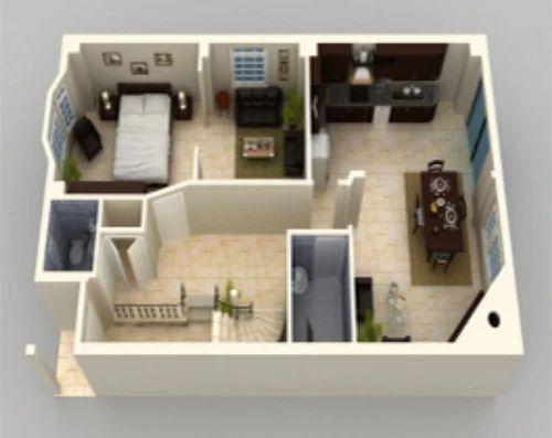 3D Floor Modeling Architecture Service