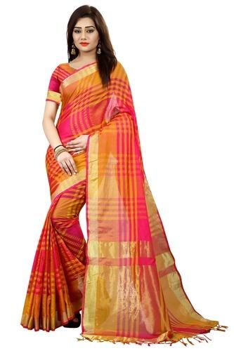 b61f5ffe24ee78 Cotton Silk Saree - Traditional Cotton Silk Saree Manufacturer from ...