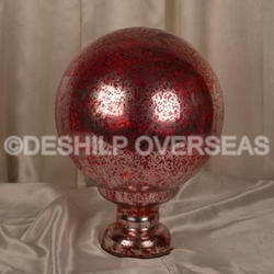 Glass Christmas Finials