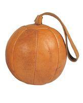 Gym Fitness Leather Medicine Ball