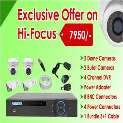 Special Offer On Hi- Focus 1mp CCTV Cameras Kit