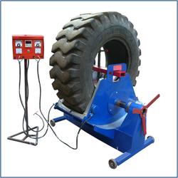 Section Tyre Repair Machine OTR JM 7600
